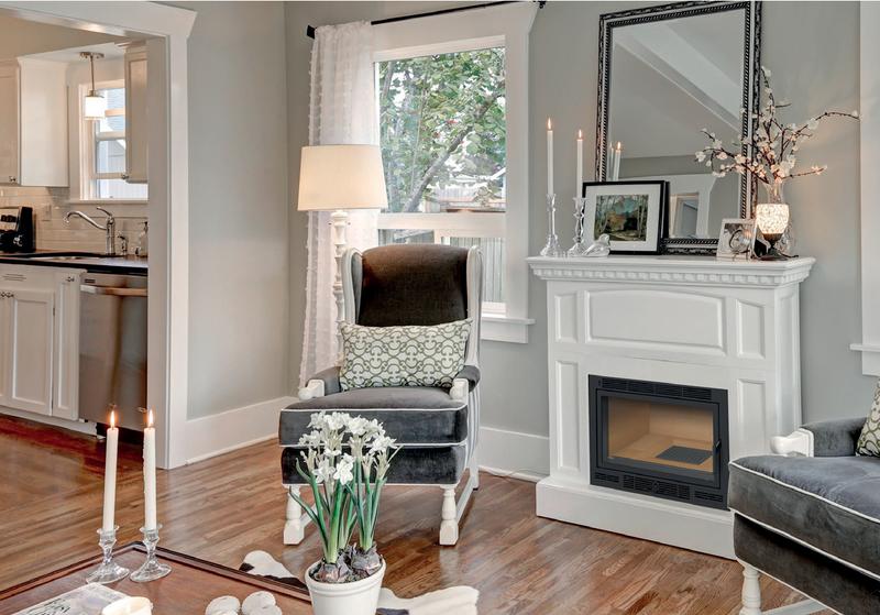 insert de chemin e 4 faces sur mesure. Black Bedroom Furniture Sets. Home Design Ideas