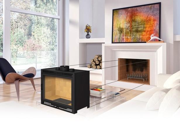 insert sur mesure totem. Black Bedroom Furniture Sets. Home Design Ideas