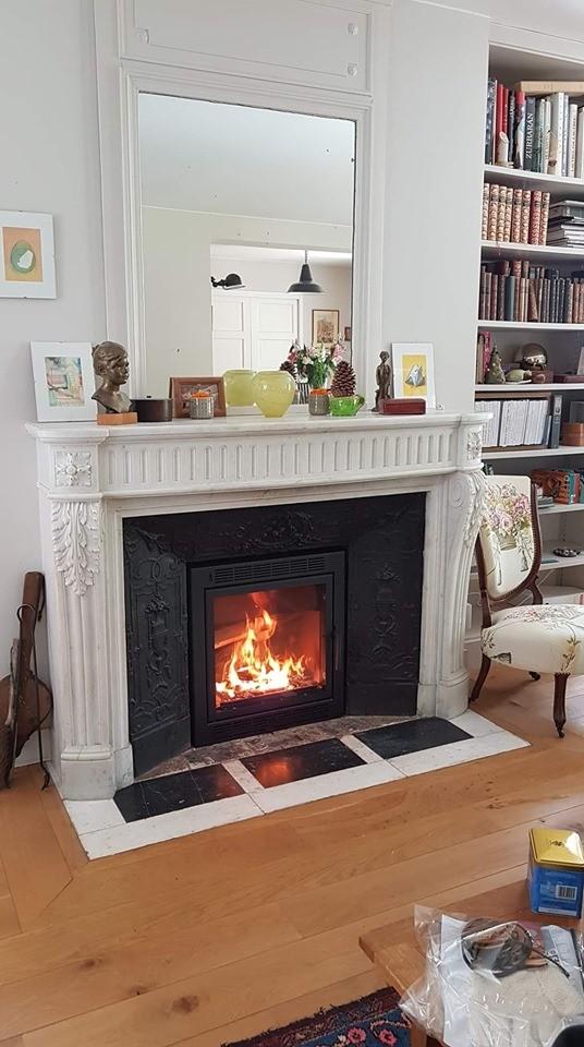 insert bois sur mesure. Black Bedroom Furniture Sets. Home Design Ideas