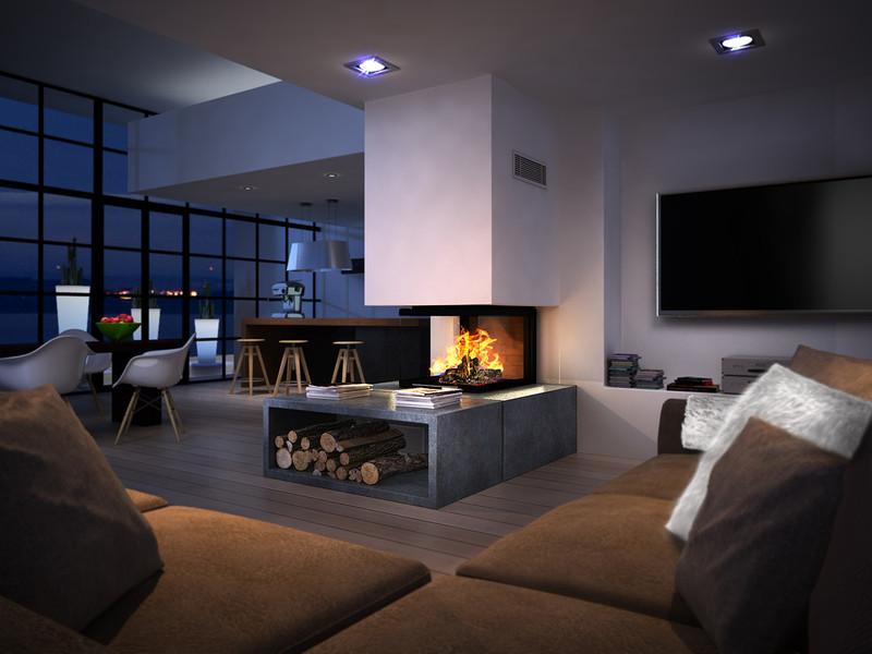 chemin e foyer multifaces epi technika. Black Bedroom Furniture Sets. Home Design Ideas